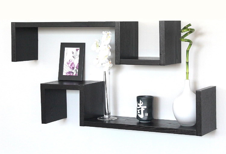 Cucine grigio e legno - Mensole da parete design ...