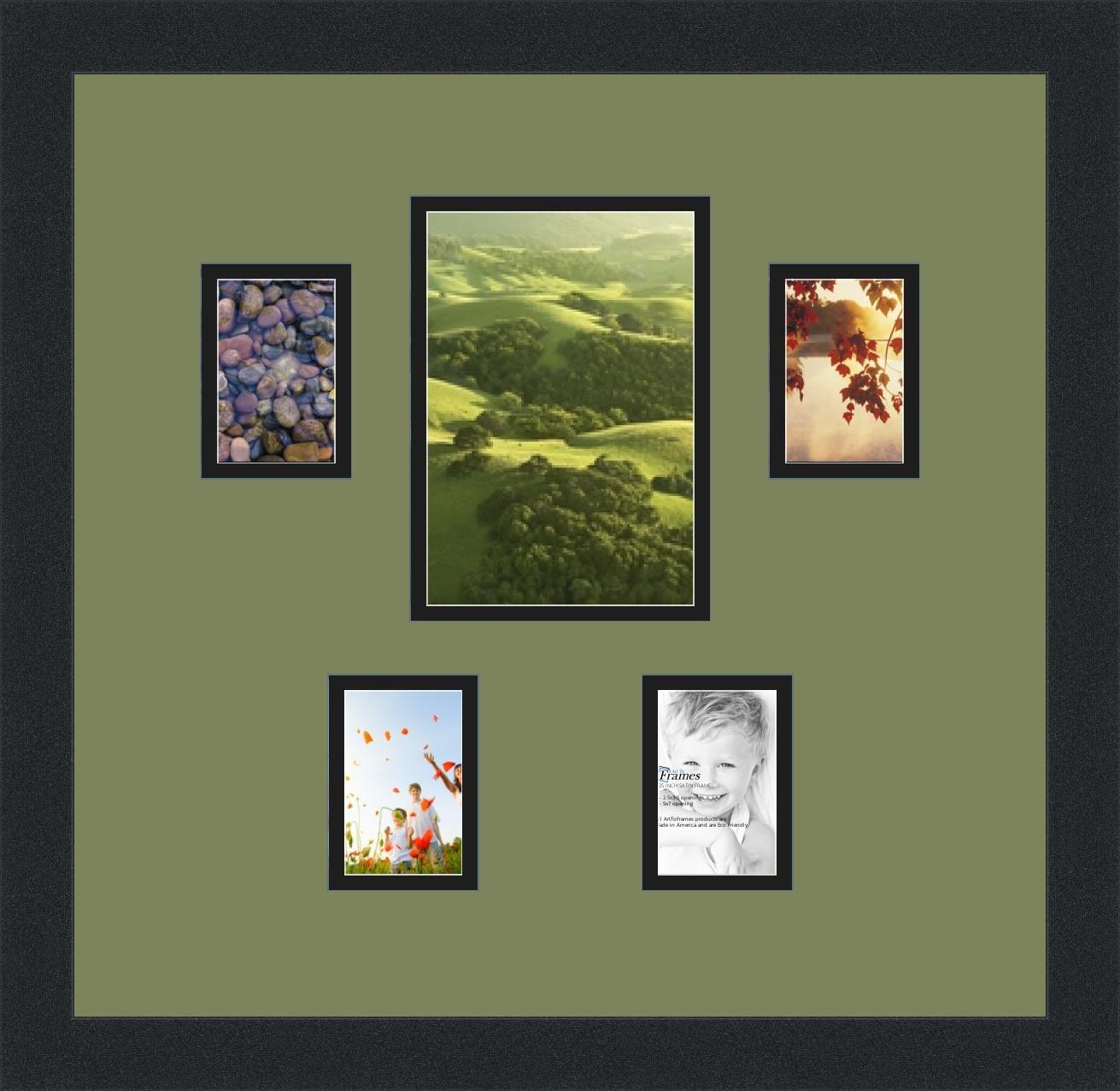 Amazon.de: Art An Rahmen double-multimat-128-861/89-frbw26079 Foto ...