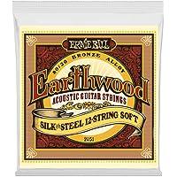 Ernie Ball P02051 Earthwood Silk and Steel Soft 12-String 80/20 Bronze Acoustic Guitar String, 9-46 Gauge, Light