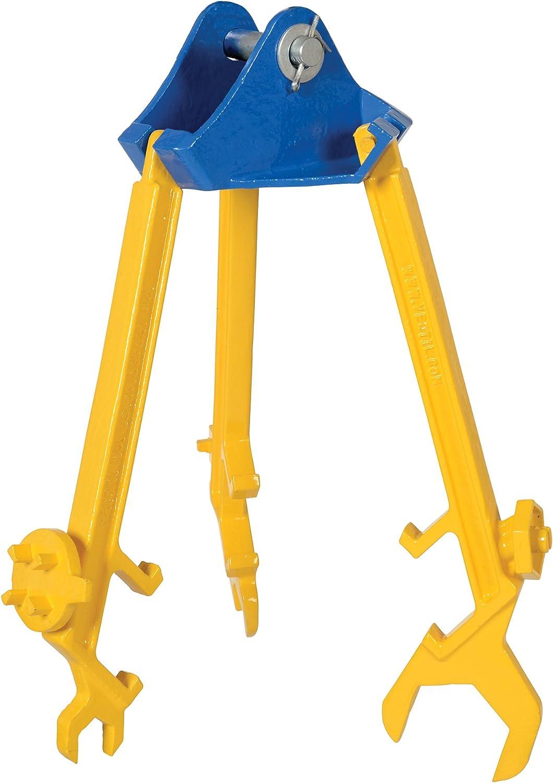 Steel Vestil PDL-800-M Multi-Purpose Overhead Drum Lifter//Wrench 800 lbs Capacity
