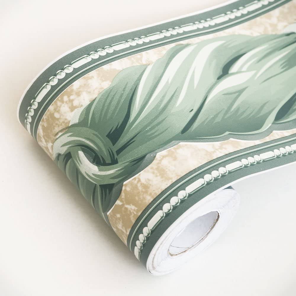 Article Hemp Rope Self-Adhesive Wallpaper Borders Home Decor Roll