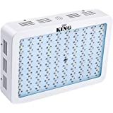 King™ 300w Full Spectrum 360-870nm LED Grow Light Panel for Greenhouse and Indoor Flower Plant Growing and Flower(3w Led)