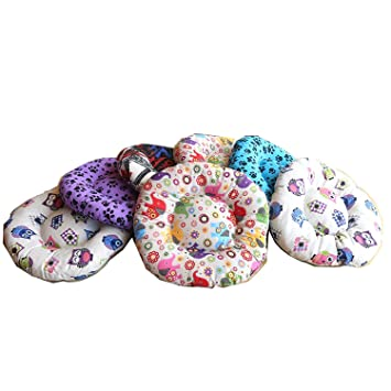 YOMMY® Cama Colchoneta Redonda para Perros Gatos Mascotas Material Alta Calidad Colores se envían al