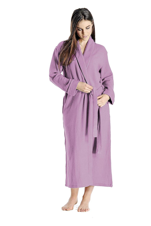 Faded purplec Cashmere Boutique  100% Pure Cashmere Robe for Women (15 colors, 2 Sizes)