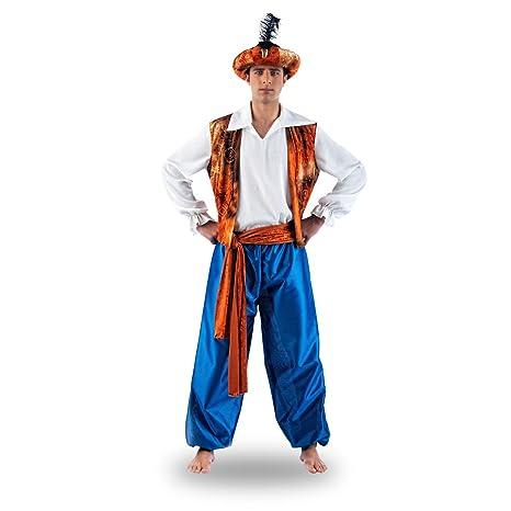 Elbenwald - Aladin - Costume Orientale Da Uomo - Per Cosplay O Feste In  Maschera - da32439d675