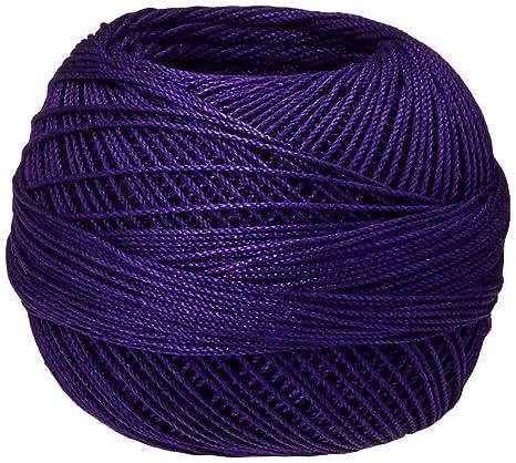 Purple Twist Lizbeth Cordonnet Cotton Size 10