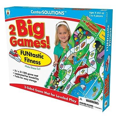 Carson-Dellosa Publishing Two Big Games FUNtastic Fitness: Toys & Games