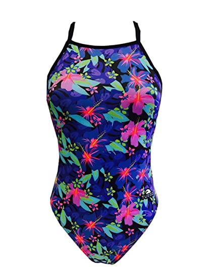 Turbo Flower Relax Swimsuit - Girls 32