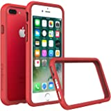iPhone 7 Plus Case - RhinoShield [CrashGuard] Bumper [11 Ft Drop Tested] No Bulk [ShockProof Technology] Thin Lightweight Protection, Slim Rugged Cover - [Red]