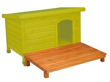 Croci c6065651 Plataforma para Perros Casa Shelter, L: Amazon.es: Productos para mascotas
