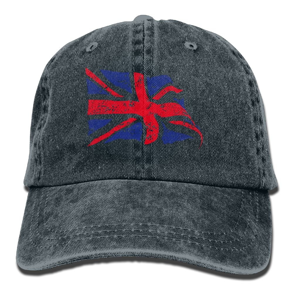 SDFS83 UK Adult Cowboy Hat Baseball Cap Adjustable Athletic Customizable Best Graphic Hat For Men and Women