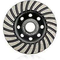 """Turbo Row Diamond Grinding Cup Wheel for Concrete Masonry Diameter 4"""""""