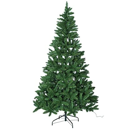 Image Unavailable. Image not available for. Colour: Collection 7ft Pre-lit  Christmas Tree ... - Collection 7ft Pre-lit Christmas Tree - Green: Amazon.co.uk: Kitchen