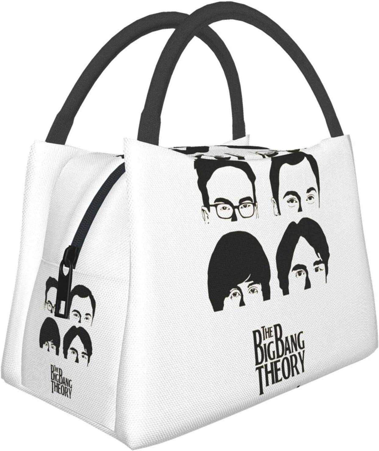 The Big Bang Theory Insulated Lunchboxes Food Bag Resuable Insulation Cooler Lunch Tote Bag For Work Picnic Travel