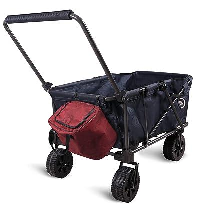 Amazon.com: REDCAMP Carro de playa plegable con ruedas ...
