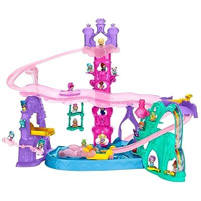 Nickelodeon Shimmer and Shine, Teenie Genies Magic Carpet Adventure Playset: Toys & Games