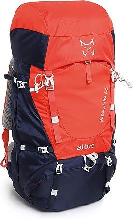 ALTUS - Mochila de Trekking Bisaurim 50L, Azul Marinio, 2,16 ...
