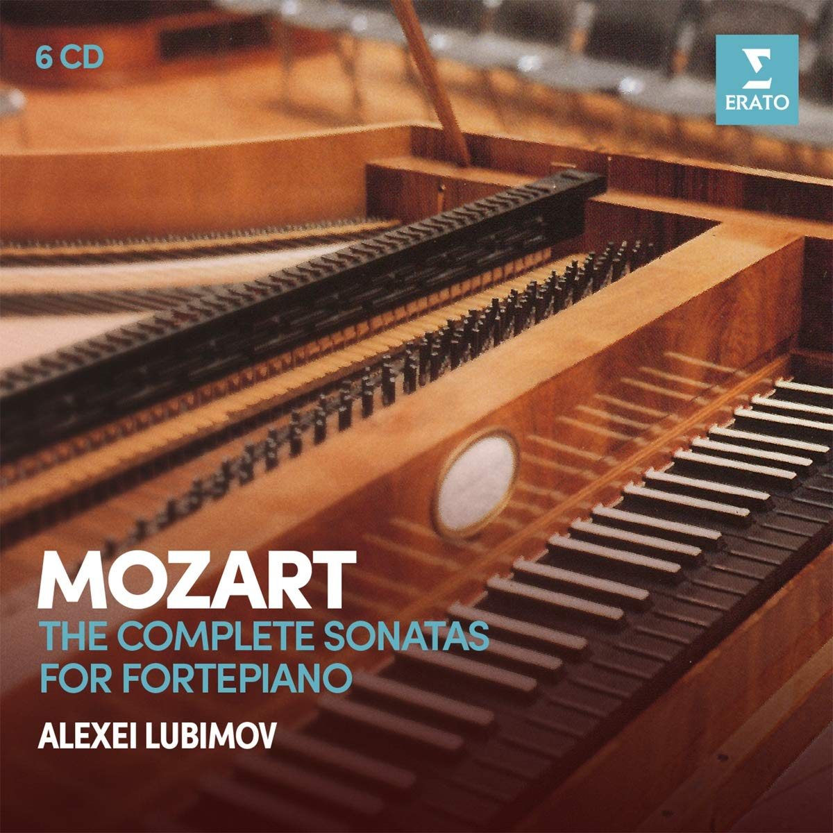 CD : Alexei Lubimov - Mozart: Complete Sonatas For Pianoforte (6PC)