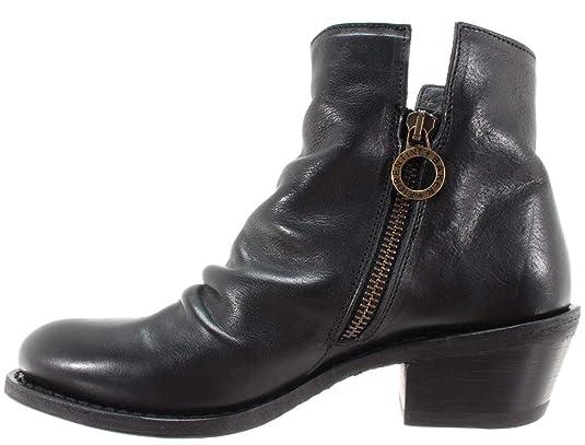 FIORENTINI BAKER Women's Shoes Ankle Boots Rusty 18 Cusna Nero Rocker Black IT