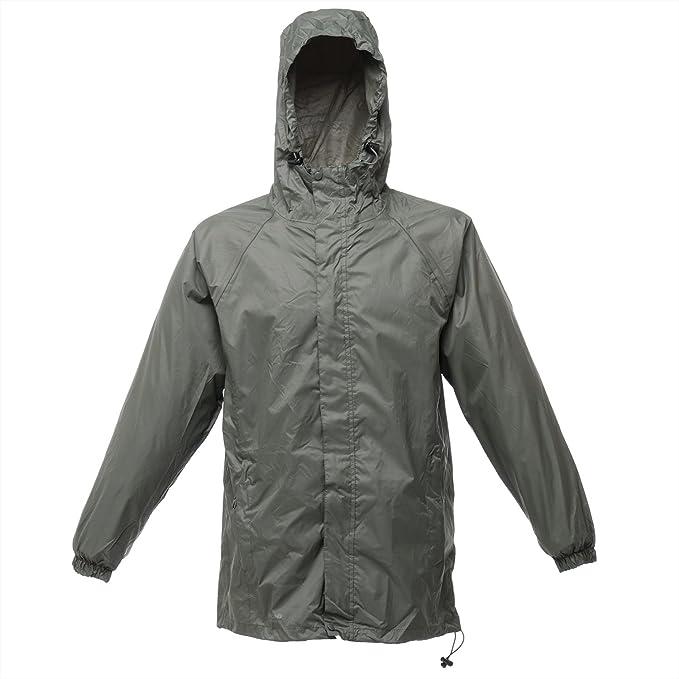 Regatta Packaway Ll Waterproof Chaqueta – Laurel – 2 x l