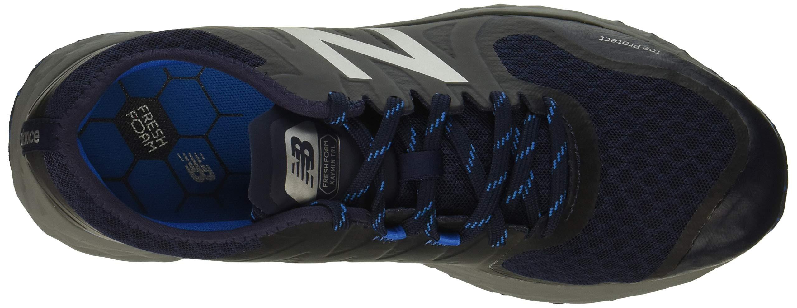 New Balance Men's Kaymin V1 Fresh Foam Trail Running Shoe Pigment/Laser Blue 1.5 D US by New Balance (Image #8)
