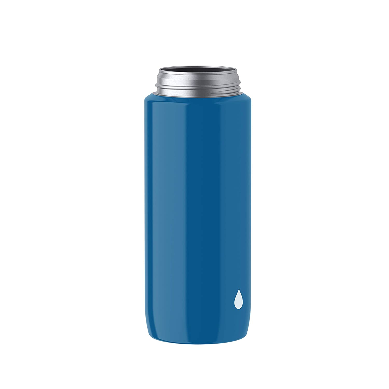 Dragon 0,4 Liter AutoClose Verschluss Emsa Light Steel 518360 Edelstahl Trinkflasche