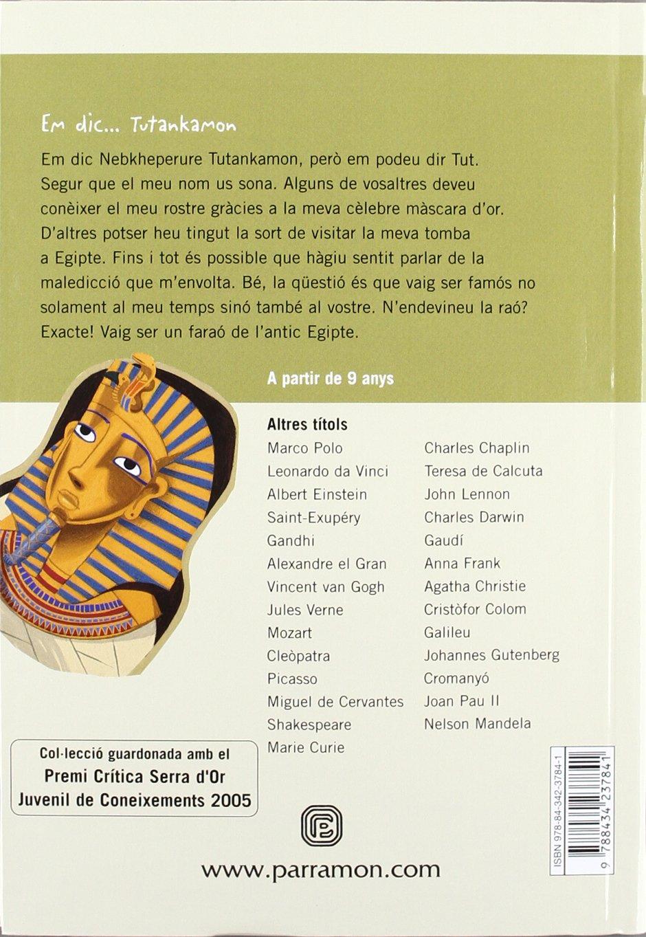 Em dic... Tutankamon (Me llamo): Amazon.es: Castellano, Núria ...