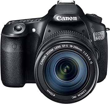 Amazon Com Canon Eos 60d 18 Mp Cmos Digital Slr Camera With Ef S 18 200mm F 3 5 5 6 Is Lens Discontinued By Manufacturer Camera Photo