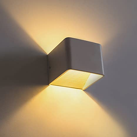 Fast Deliver Waterproof Cube Modern Cob Led Light Home Lighting Decoration Wall Lamp Aluminum Ac 220v Outdoor Wall Light For Bedroom Lighting Led Indoor Wall Lamps Led Lamps
