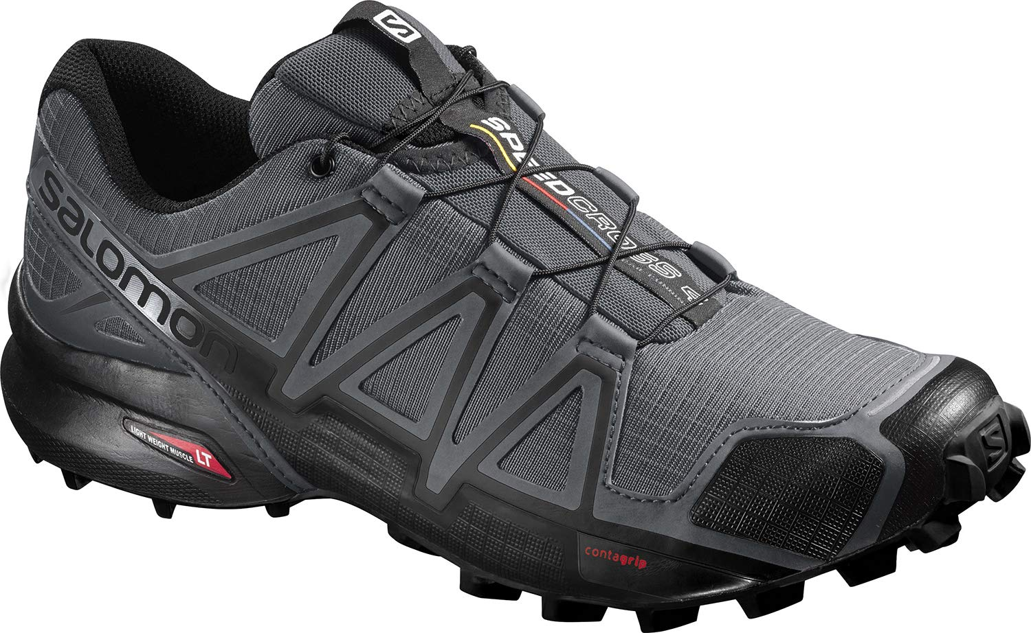 Salomon Men's Speedcross 4 Trail Runner, Dark Cloud, 11.5 M US by SALOMON