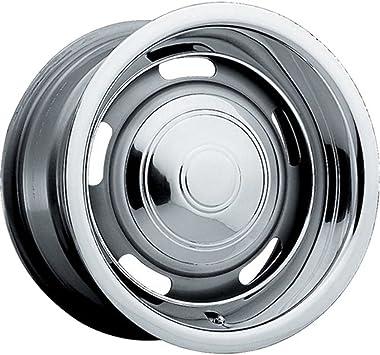 Amazon.com: Pacer Rallye 15 x 8 borde rueda/plata 5 x 4,5 y ...