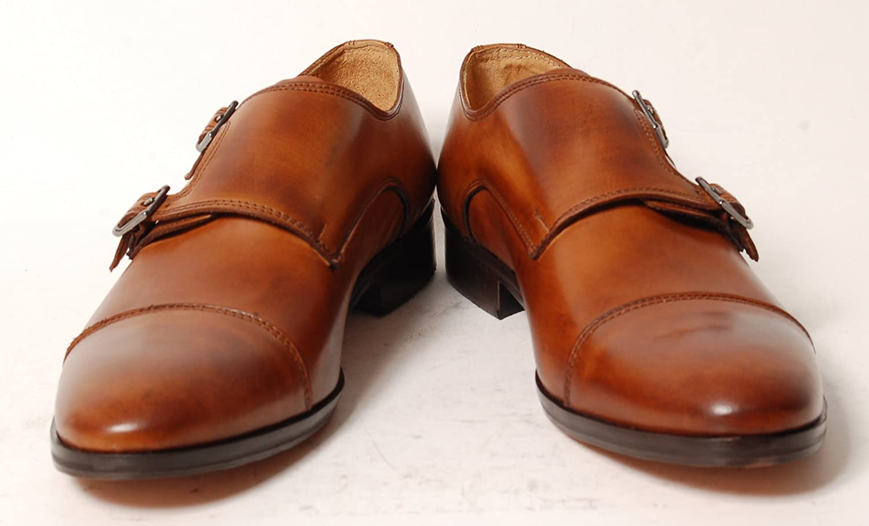 Antica Calzoleria Campana Schuh Kalbsleder | Mod. 9509 | Kalbsleder Schuh | Monkstrap | braun, dunkelbraun, schwarz oder blau 41 fd7fe4