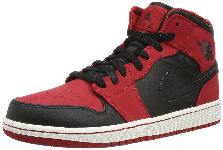 Black Black Gym Red Nike - AIR JORDAN 1 MID