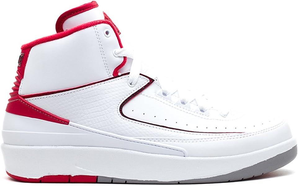 brand new 9b8cb ef609 NIKE air Jordan 2 Retro BG hi top Trainers 395718 Sneakers Shoes (UK 5 US