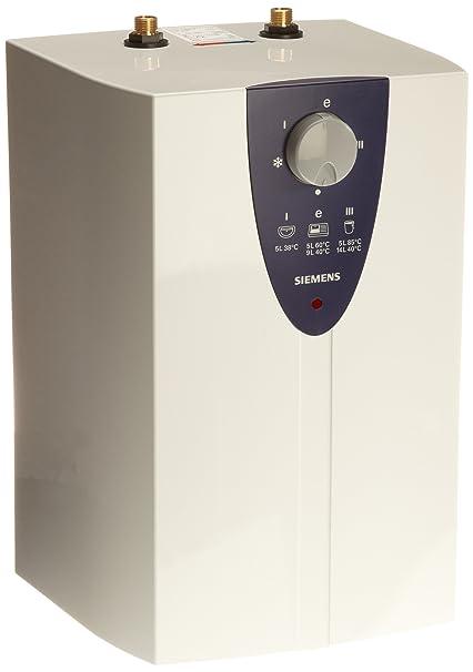 Siemens DO05704 - Calentador de agua pequeño, 5 litros, instalación bajo la pila