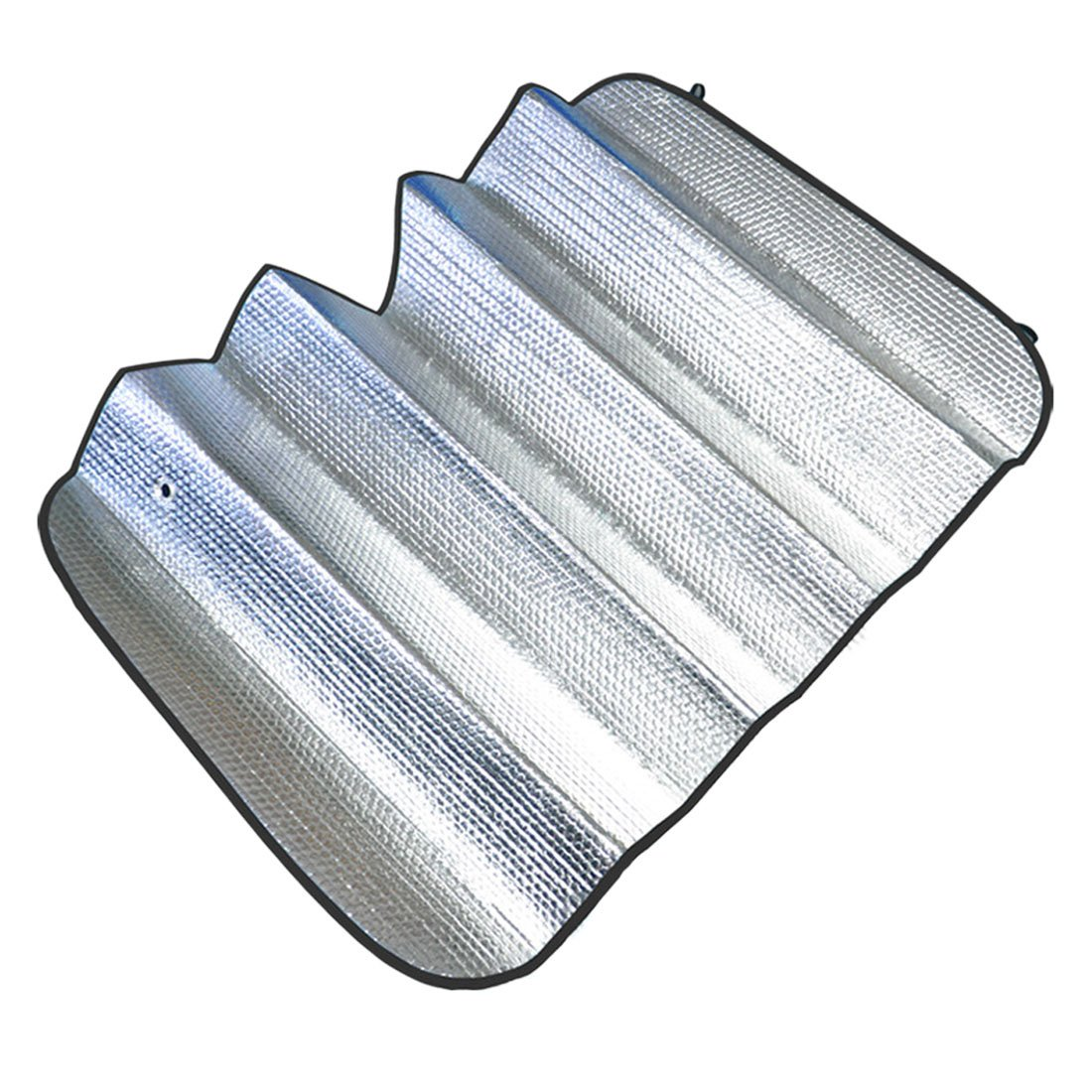 Handlife 2015 Car sun Shade, 140 X 70cm Double-sided Silver,bubble Cotton Sun Insulation HL-CL1051