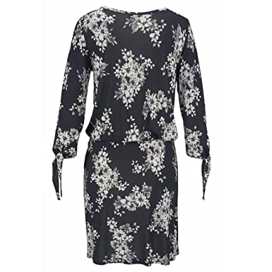 Teresamoon Women Long Sleeve Beach Printed Sexy Bodycon Evening Party Cocktail Mini Dress at Amazon Womens Clothing store: