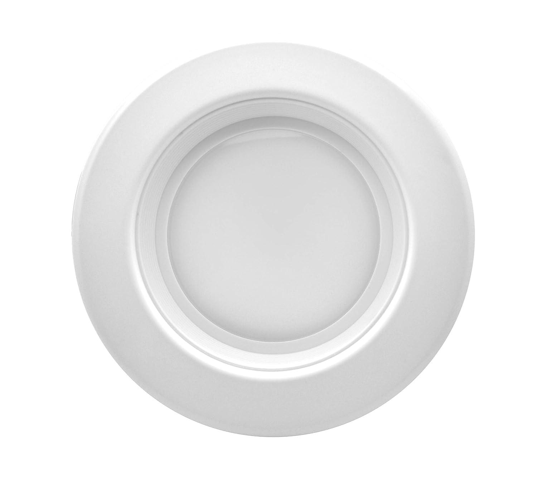 "8-Pack, 3000K Soft White, Beveled Trim 90 CRI UL-Listed CEC JA8 Title 24 Compliant Bioluz LED 4/"" LED Retrofit Recessed Light 65W Equivalent Using 10W 700 Lumen Dimmable"