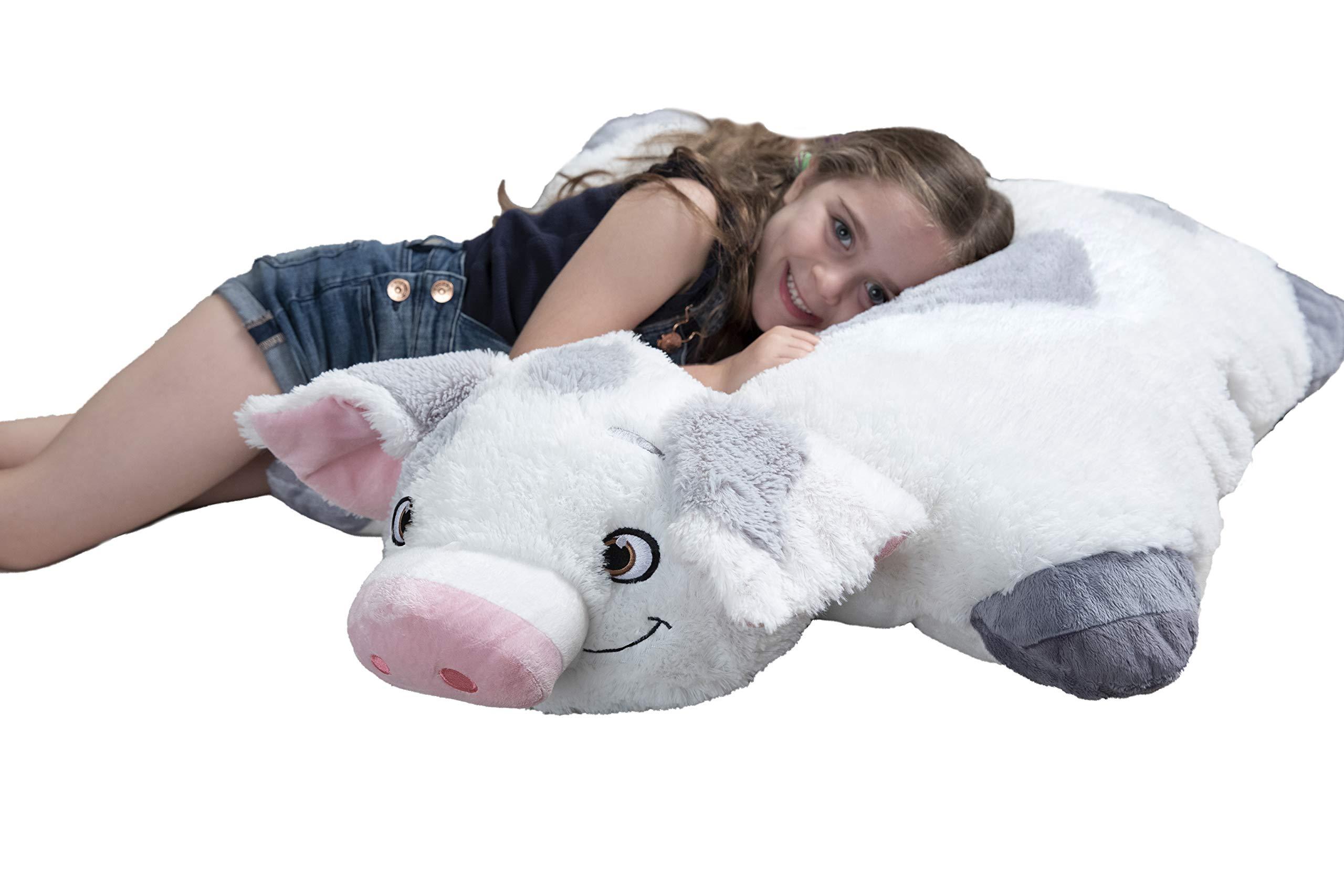 Pillow Pets Jumboz Disney Moana Pua Jumbo Stuffed Animal Plush Toy