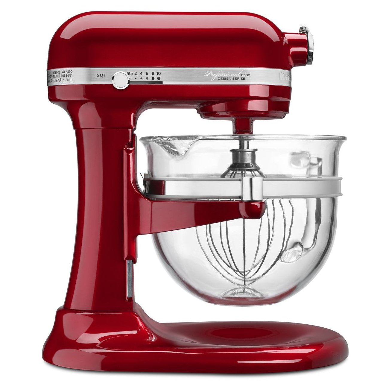 Amazon.com: KitchenAid Professional 6500 Design Series Candy Apple ...