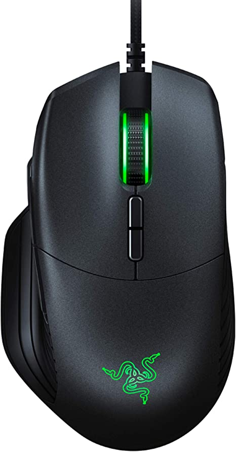 Black Show Time:Mechanically Wired Gaming Mouse DPI Adjustable Backlit Programmable Game Internet Cafe Office Laptop