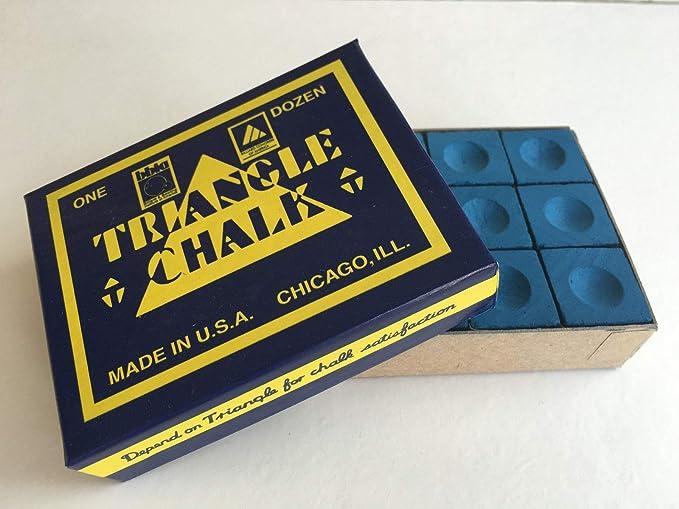 Triangle King of them all - Tiza para taco de billar, color azul ...