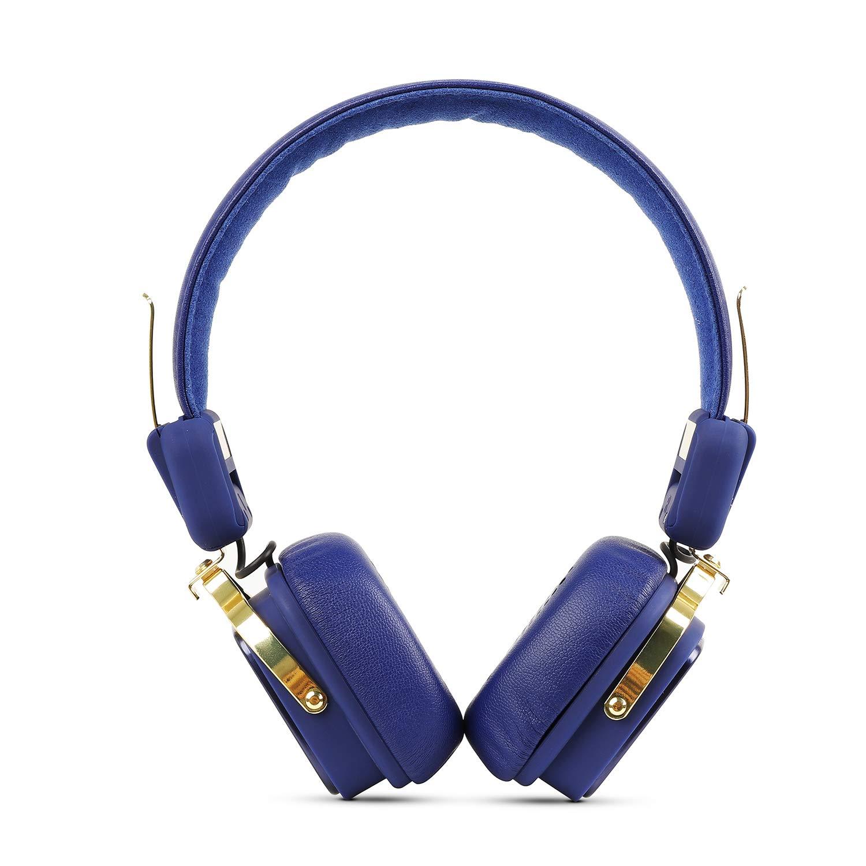 boAt Rockerz 600 Mumbai Indians Edition Bluetooth Headphone with Luxurious Sound, Plush Earcushions, Foldable Ergonomic Design and Up to 8H Playtime (Blue)