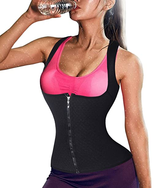 bdf1881d94 Ursexyly Waist Trainer with Hook Zipper