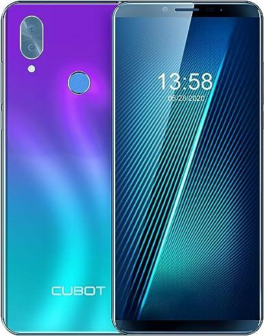 Cubot X19, Smartphone Desbloqueado 4G, 5.93 Pulgadas FHD, Android 9.0, 4 GB + 64 GB, Dual SIM, 4000 mAh, 8 MP + 16 MP, impresión de Dedo para desbloquear la Cara: Amazon.es: Electrónica