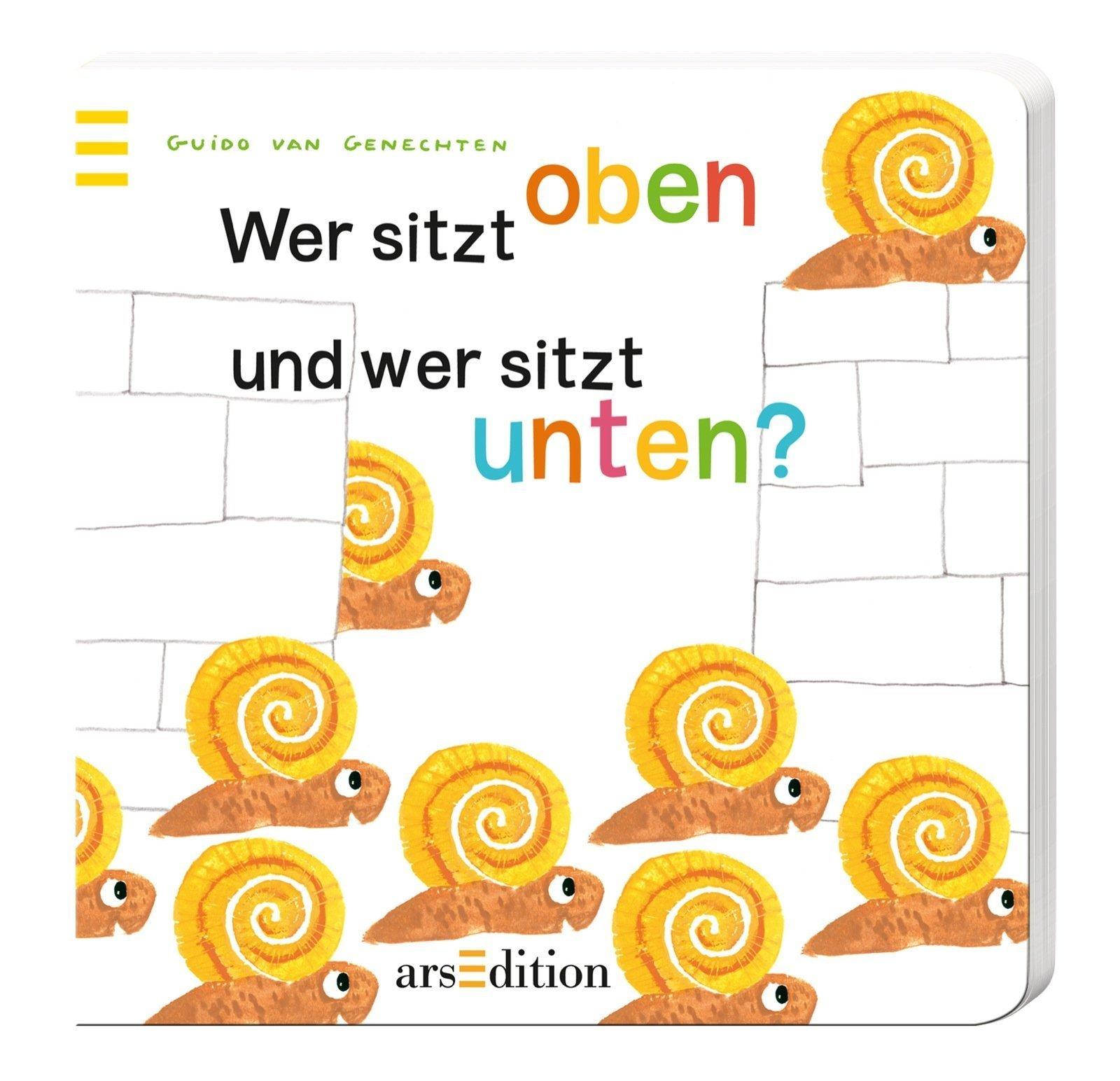 Wer sitzt oben und wer sitzt unten? von Guido van Genechten (Illustrator) (3. September 2013) Pappbilderbuch
