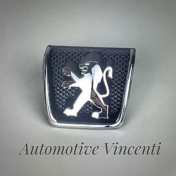 Fregio stemma logo Peugeot 307 dal 2001 al 2005 Anteriore: Amazon