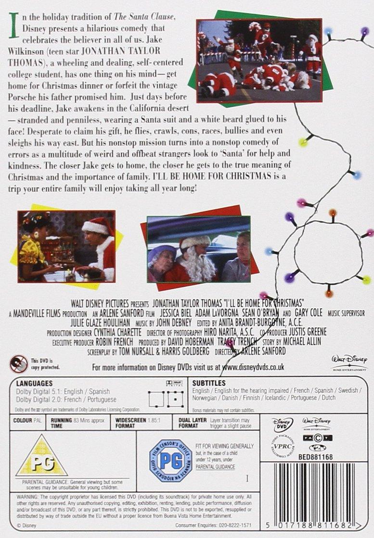 I\'ll Be Home For Christmas [DVD]: Amazon.co.uk: Jonathan Taylor ...