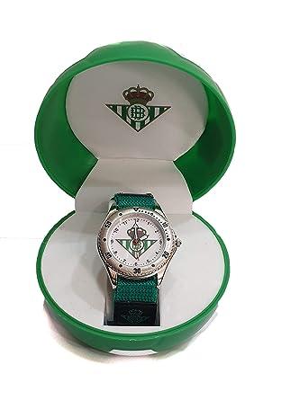 Reloj Real Betis Balompié para Caballero/Cadete. Pulsera de Velcro ...
