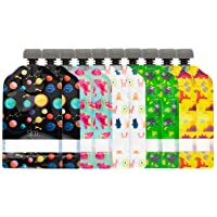 Simple Modern Reusable Food Pouches 10-Pack 5oz - Baby Food Storage Toddler Kids...